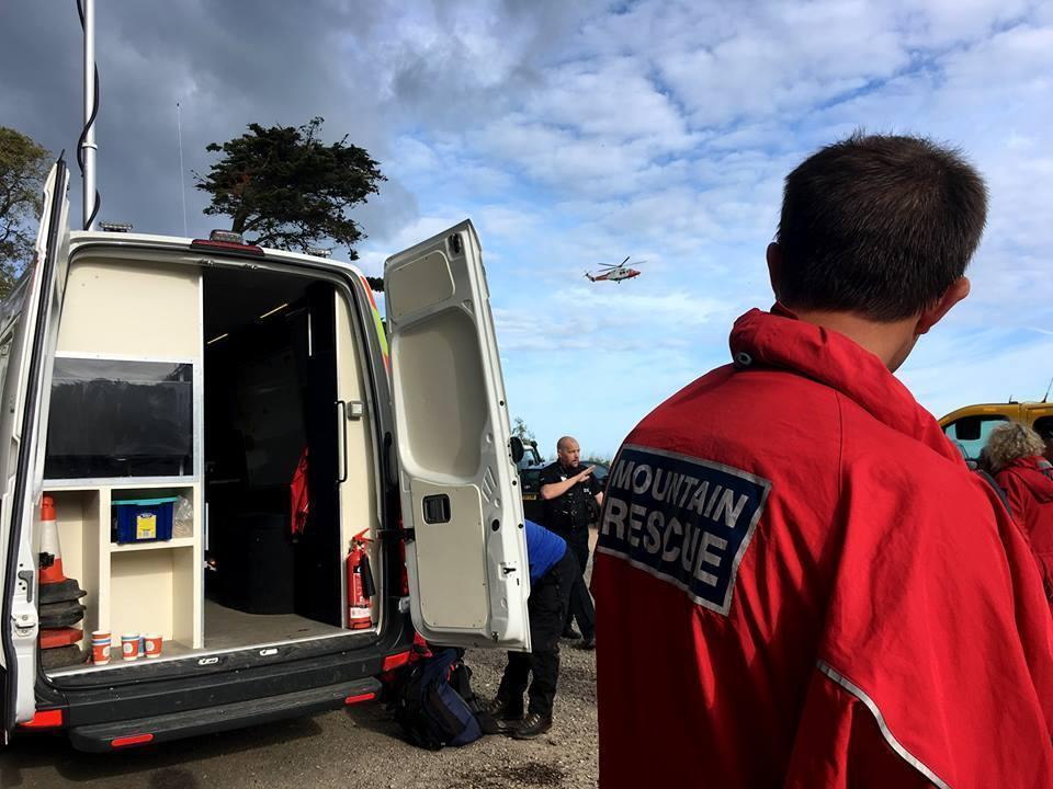 Dartmoor Search and Rescue Ashburton deployed on a search for a missing teenager at Blackpool Sands in the South Hams Devon