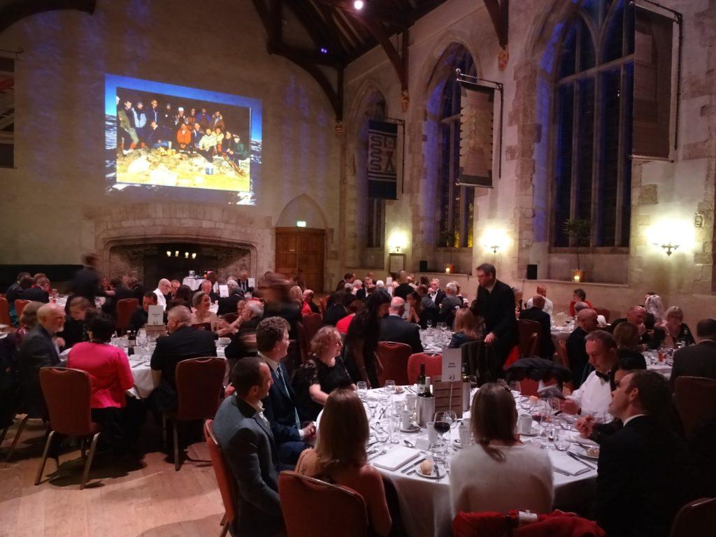 Dartmoor rescuers celebrate 40 years saving lives with a gala dinner at Dartington Hall