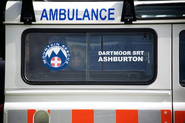 Dartmoor Search and Rescue Ashburton Dart 62 Landrover ambulance