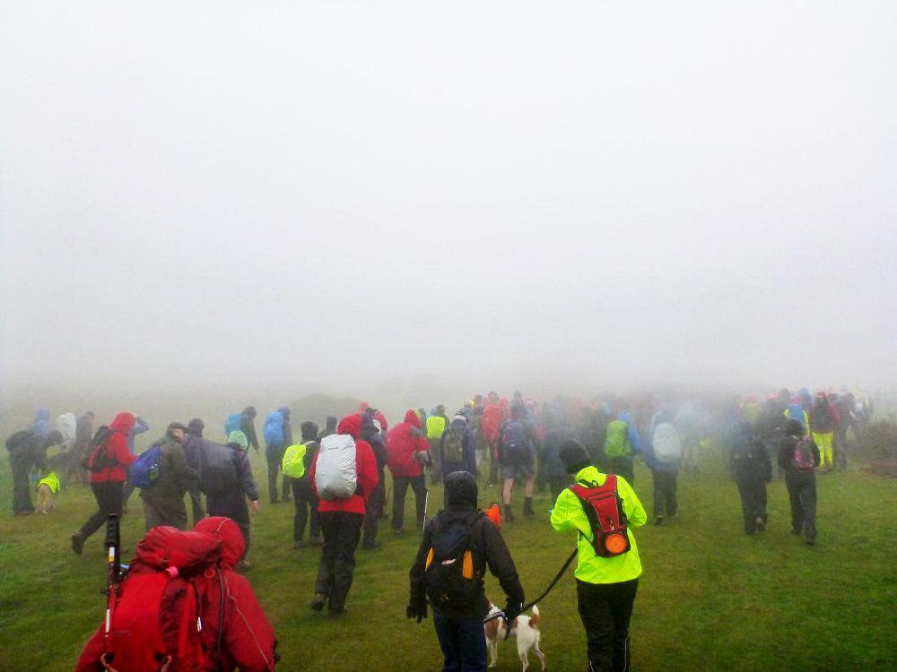 200 walkers set off on the Dartmoor Rescue Templer Way Challenge