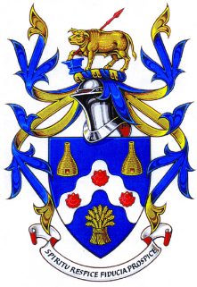 Bovey Tracey town colour crest