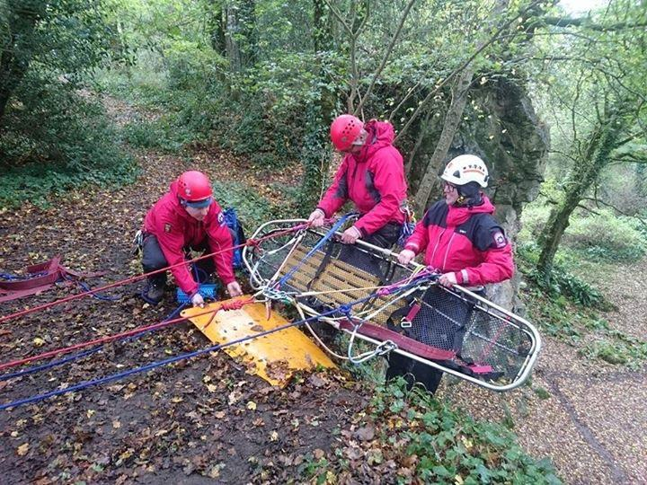 Rope rescue train the trainer courses for mountain rescue delivered by Lyon Equipment