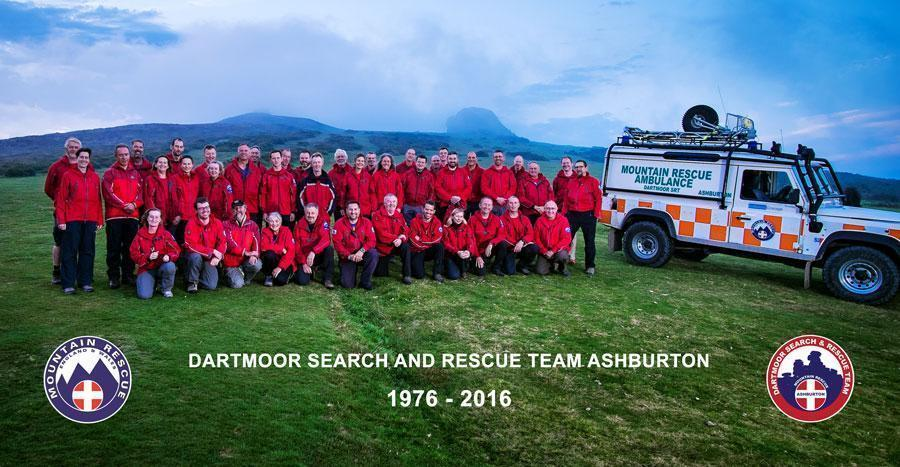 Dartmoor Search and Rescue Ashburton celebrates its 40th anniversary at Haytor
