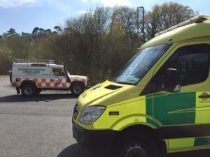 Dartmoor walker collapses from heat exhaustion