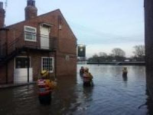Devon volunteers home from devastating York floods