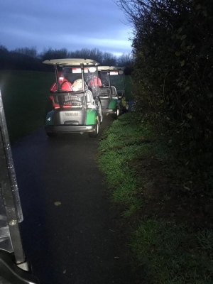 Dartmoor Rescue undertake search using Dartmouth Golf Club golf carts