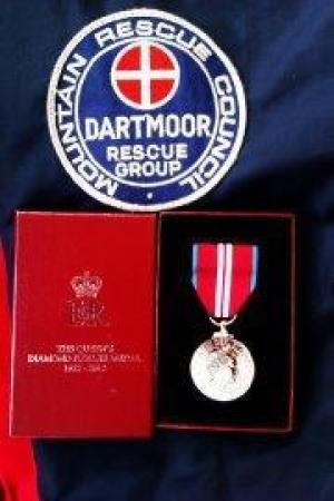 Queen's Jubillee Medal Presentation to Devon rescuers