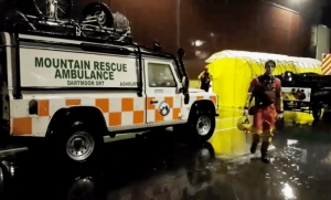 Mountain rescuers deployed on Exeter search