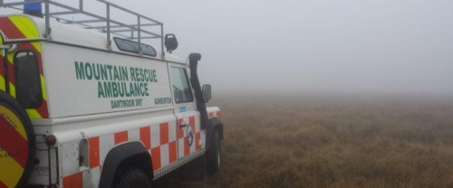 Dartmoor Search and Rescue Landrover ambulance