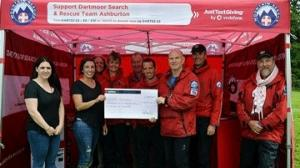 Donation from popular Dartmoor business vital for saving lives